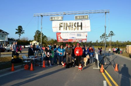 Brunswick Forest Veterinary Hound Hustle 5k and 10k