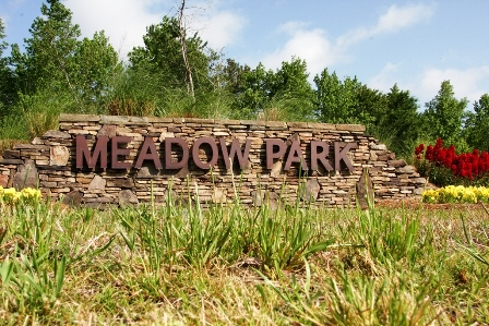 Meadow Park Sign