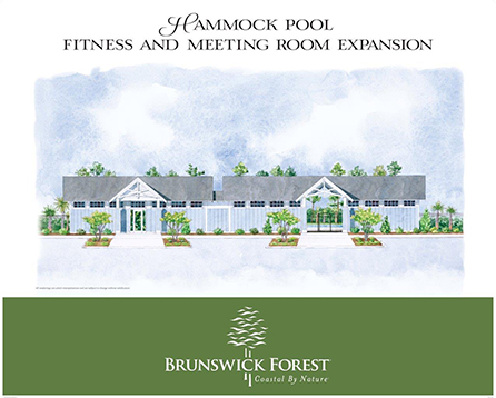 HAMMOCK POOL FITNESS RENDERING